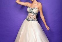 Voluminous Ball Gown / Long gowns that are voluminous and Cinderella-ish style.