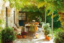 Zahrady - posezení