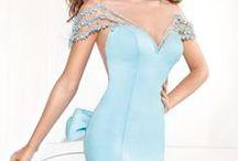 Short Fitted Dress - Tarik Ediz 2015 / Elegant short dresses by Tarik Ediz