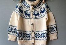 Pletení - norské vzory