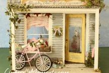 Miniatures & Dollhouses / by Shorena Ratiani