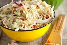 Coleslaw / I am crazy about coleslaw-love all kinds. Feel free to pin. No limits. Invite others to pin. Thanks.