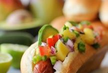 Hot Diggity Dogs / Anything about a Hot Dog.  Feel free to pin. No limits. Invite others to pin.