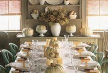 Bydlení - stolování - podzim