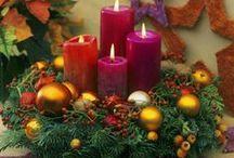 Vánoce - adventní věnec