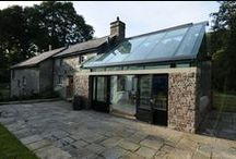Glass roof, roof lantern