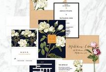 Wedding Papers / Invitations, Save the Dates, day of pieces and so much more!
