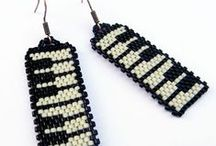 Beading - brick/peyote stitch beauties / Beaded by other people