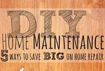 DIY Home Repairs / Do it yourself home repair tips