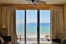 Majestic Sun 506B / This condo is perfect for a romantic getaway or a fun family vacation! Enjoy your morning coffee on the 5th floor balcony while watching beautiful sunrises and gazing out over the Gulf of Mexico. If you're lucky, you may even see dolphins out for a morning swim.