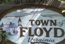 Points of Interest Around the Auction Site: Floyd, Virginia / Points of Interest Around the Auction Site: Floyd, Virginia
