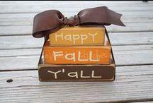 Autumn/Fall / Photography of autumn/fall.