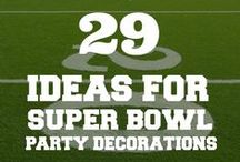 Super Bowl Party Ideas / Super Bowl Party Ideas