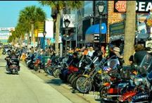 Daytona Beach Bike Week - 2014 / A motorcycle event and rally held annually in Daytona Beach, Florida. Approximately 500,000 people make their way to the rally area for the 10-day event. The festivities include motorcycle racing, concerts, parties, and street festivals. Photographer and Auctioneer Myers jackson will be attending and capturing this year's event highlights!