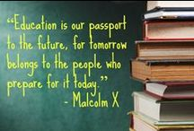 Educational Motivation / Motivational sayings and inspirational quotes.