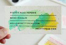 Business Card Ideas! / Qui potete inserire idee per creare i vostri biglietti da visita e le foto dei vostri biglietti :)