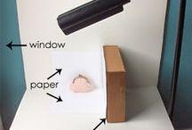 Inspirations for our items pictures / Inserite qui tutorial fotografici trovati sul web e idee per le foto dei listing