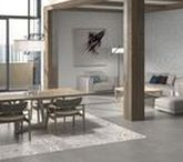 Hydraulic Patterned Porcelain Tiles / Be brave with patterns!