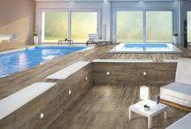 Echo Porcelain Wood Effect Tiles / Beautiful porcelain wood effect tiles for internal and external use.