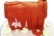 Handbag Cakes / How we love our designer bags! For those of us who have the handbag bug really bad, feast your eyes on these amazing  handbag cakes. Your next birthday party wont be complete without a bag made in your favourite designer label.