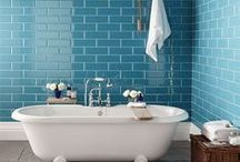 Metro Subway Tiles / A selection of the ever popular Metro Subway tile in 3 sizes - 75x150, 100x200 and 100x300mm.
