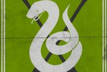 Slytherin / Slytherins tend to be ambitious, shrewd, cunning, strong leaders, and achievement-oriented