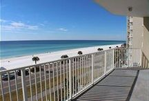 Majestic Sun 413A / This newly purchased, completely REMODELED 2-bedroom DELUXE condo is the epitome of beachy chic! All new furnishings, decor, granite, stainless steel, beds and more. COASTAL LIVING decor. You will be amazed with this condo! Located in Tower A of Majestic Sun, you'll have a totally open view of the beach from both the living room and the master bedroom. Enjoy the surf, sun and sand by day, and come back to coastal living comfort by night.