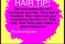 The Fro / Tips on how to grow my Afro healthier and longer