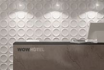 WOW Design / Beautiful, contemporary 3D wall tiles.