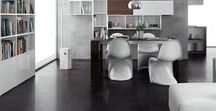 Rain Technical Porcelain / A contemporary porcelain tile range available in 6 colour ways and 2 surface finishes with additional anti-slip options.