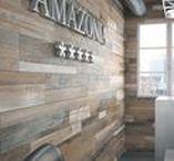 Amazonia Wood Effect Porcelain Tiles