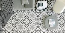 Marrakesh Porcelain Tiles / The Moroccan influenced collection of Marrakesh will enchant your home with beautiful tile patterns and is suitable for decoration on both interior walls and floors. Marrakesh is a modern porcelain interpretation of traditional North African encaustic tiles.