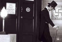 The Doctor and his blue box