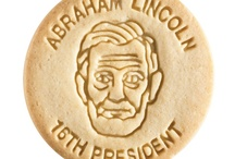 Abraham Lincoln / At Dick & Jane Baking Company, we have successfully combined whole grain nutrition and education into our new line of healthy, nut free, educational snacks.