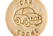 Car - Coche / At Dick & Jane Baking Company, we have successfully combined whole grain nutrition and education into our new line of healthy, nut free, educational snacks.