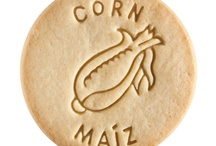 Corn - Maiz / At Dick & Jane Baking Company, we have successfully combined whole grain nutrition and education into our new line of healthy, nut free, educational snacks.