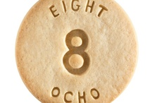 Eight - Ocho / At Dick & Jane Baking Company, we have successfully combined whole grain nutrition and education into our new line of healthy, nut free, educational snacks.