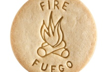 Fire - Fuego / At Dick & Jane Baking Company, we have successfully combined whole grain nutrition and education into our new line of healthy, nut free, educational snacks.