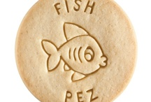 Fish - Pez / At Dick & Jane Baking Company, we have successfully combined whole grain nutrition and education into our new line of healthy, nut free, educational snacks.