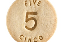 Five - Cinco / At Dick & Jane Baking Company, we have successfully combined whole grain nutrition and education into our new line of healthy, nut free, educational snacks.