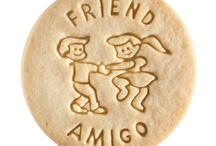 Friend - Amigo / At Dick & Jane Baking Company, we have successfully combined whole grain nutrition and education into our new line of healthy, nut free, educational snacks.
