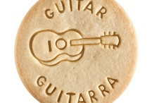 Guitar - Guitarra / At Dick & Jane Baking Company, we have successfully combined whole grain nutrition and education into our new line of healthy, nut free, educational snacks.