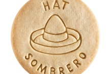 Hat - Sombrero / At Dick & Jane Baking Company, we have successfully combined whole grain nutrition and education into our new line of healthy, nut free, educational snacks.