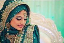 Beautiful Hijabi South Asian Brides / .
