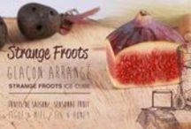 STRANGE FOOD - Glaçons Arrangés à la figue / idées, recettes et inspiration autour des fruits de la gastronomie et du design  ideas, recipe and inspiration around fruits, food and design