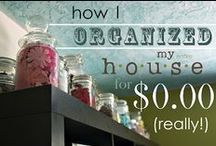 Organizing / by Terri