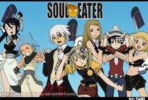 Soul Eater Obsession <3 / Probs my favorite anime. It's not too dark (at all) and it is funny. Also has my all time favorite OTP (SoMa) :) / by Sarah