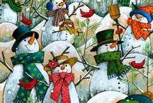 Weihnachten/Winter  - Inspiration