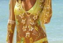Letní oblečení, opalovačky, spodní prádlo / opalovačky - mořská tématika