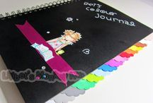 Promarker colour combo journal / My Promarker combos and colour journal. (:(|)x